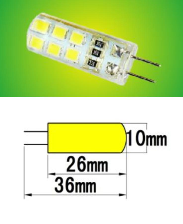Stiftsockel-Lampe / Birne LED 1.5 - 4.0 Watt G4 Sockel Fassung 12 ...