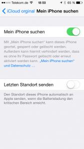 iCloud-Aktivierungssperre